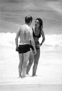Christina Onassis e Sergei Kauzov